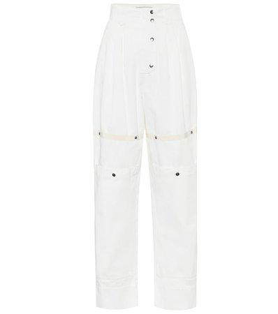 Etro - High-rise carrot pants | Mytheresa