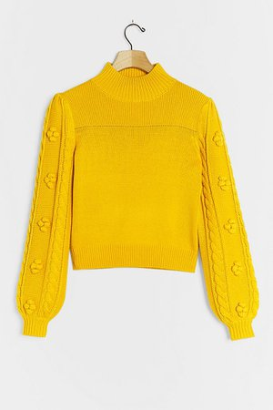 Kiara Textured Sweater | Anthropologie