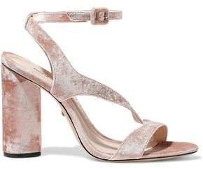 Rutte Velvet Sandals