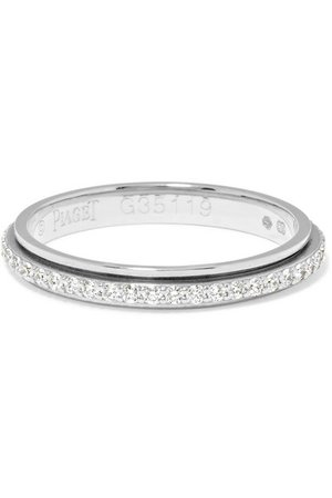 Piaget | Possession 18-karat platinum diamond ring | NET-A-PORTER.COM