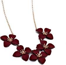 burgundy necklace - Google Search