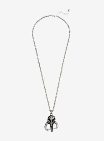 Star Wars Mandalorian Mythosaur Skull Necklace