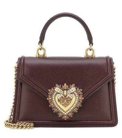 Dolce & Gabbana - Devotion small shoulder bag | Mytheresa