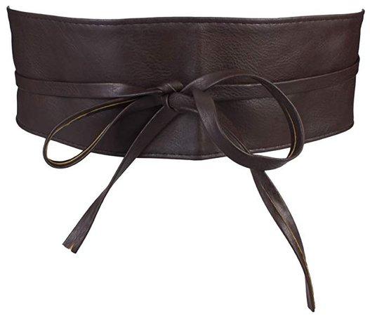 cinto medieval Breiter Hüftgürtel Damen / Taillengürtel in dunkelbraun: Amazon.de: Bekleidung