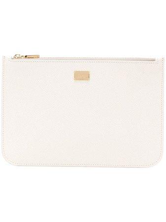 Dolce & Gabbana Logo Plaque Wallet BI1227A1001 White | Farfetch