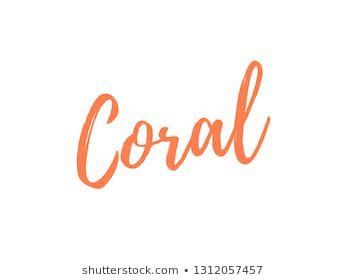 coral word - Google Search