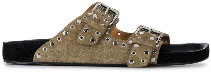 Lennyo stud-embellished sandals