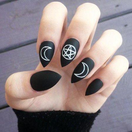 goth manicure - Google Search