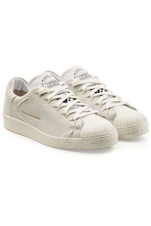 Super Knot Leather Sneakers with Suede Gr. UK 7