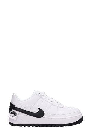 Nike Leather Air Force One Jester Xx White Sneakers