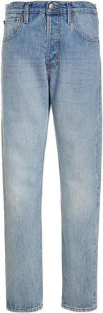 Esse Studios High-Rise Straight-Leg Jeans