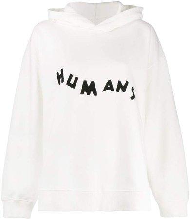 Humans print hoodie