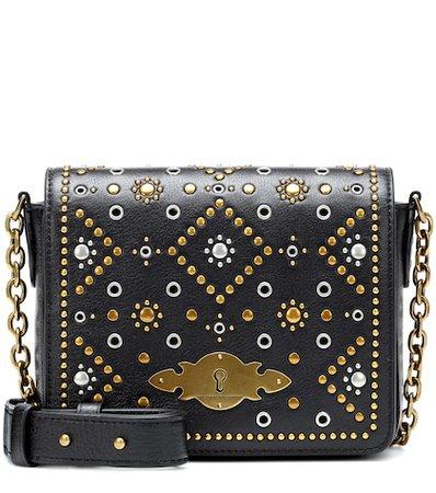 Brooke leather shoulder bag