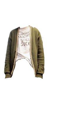 kurt cobain shirt png