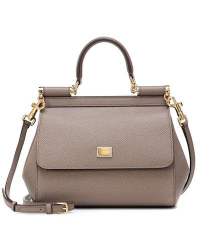 Sicily Small leather shoulder bag