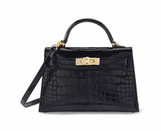 hermes kelly 20 black - Google Search