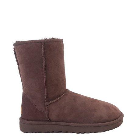 Womens UGG® Classic Short II Boot - Fuchsia | Journeys