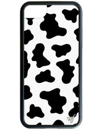 wildflower phone case cow