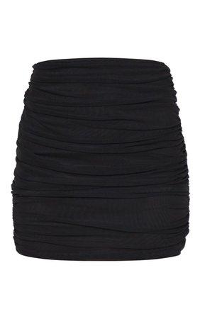 Black Mesh Skirt | Skirts | PrettyLittleThing