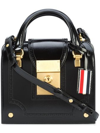 Thom Browne мини-сумка 'Mrs. Thom' с брогированием - Купить в Интернет Магазине в Москве | Цены, Фото.