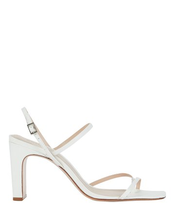 Schutz Amaia Slingback Leather Sandals   INTERMIX®