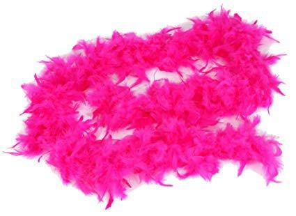 bright pink boa - Google Search