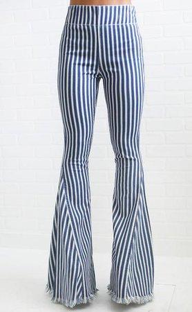 bell bottom flare jeans