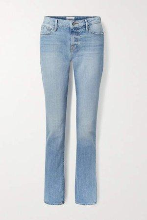 Le Mini Boot Mid-rise Jeans - Light denim