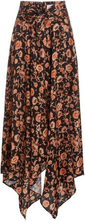 Significant Other Starmist High-Rise Crepe Skirt