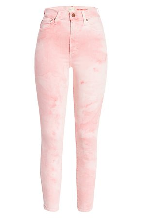 Alice + Olivia Good High Waist Skinny Jeans