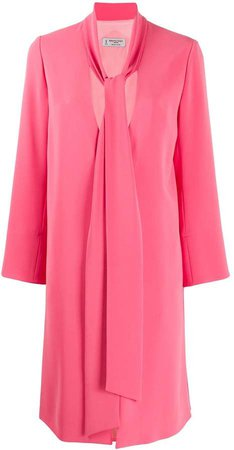 V neck robe coat