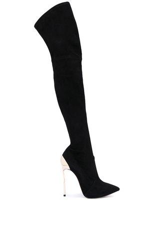 Casadei Techno Blade thigh-length Boots