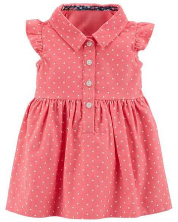 Baby Girl 2-Piece Dress & Cardigan Set | Carters.com