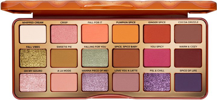 Pumpkin Spice Warm & Spicy Eyeshadow Palette
