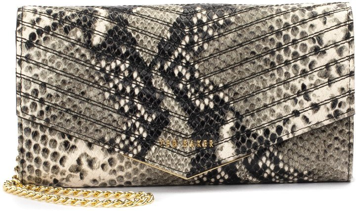 Ladora Exotic Quilted Wallet on a Chain