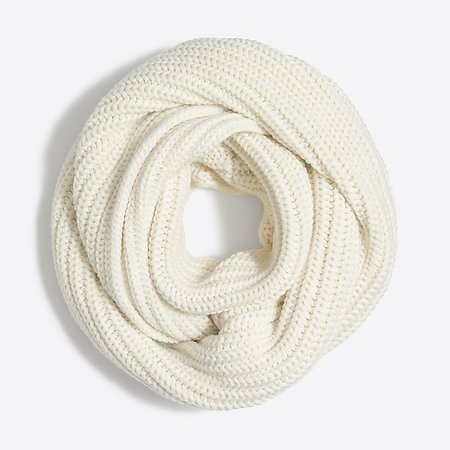 Cozy ribbed snood : J.Crew Factory