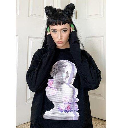 Long Sleeve Tee - Black   Dolls Kill