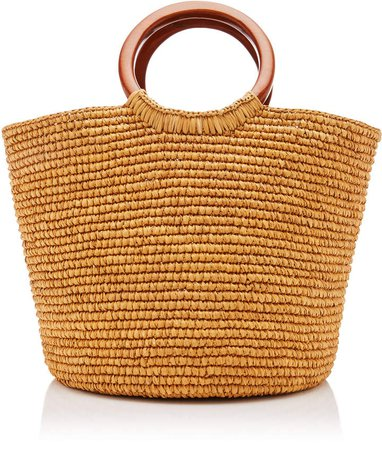 Studio Oversized Straw Tote