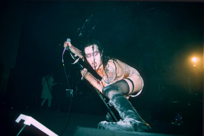 marilyn manson concert 90s - Google Search