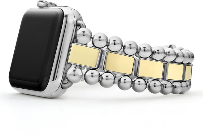 Smart Caviar Two-Tone Watchband for Apple Watch(R), 38mm