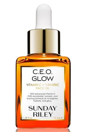 SPACE.NK.apothecary Sunday Riley C.E.O. Glow Vitamin C + Turmeric Face Oil | Nordstrom