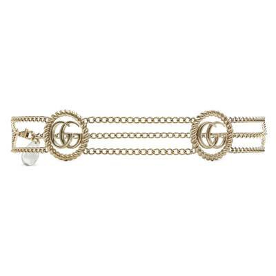 Gold-Toned Brass Chain Belt With Torchon Double G | GUCCI® International