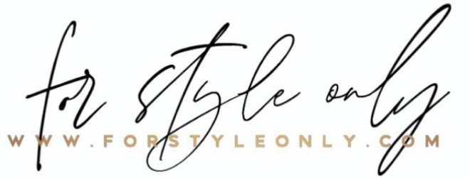 For Style Only Logo