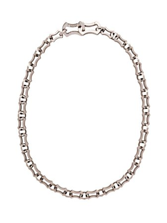 Silver Prada chain necklace - Farfetch