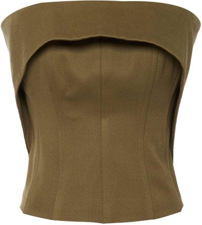 Aliétte Wool Cropped Bustier Size: 2