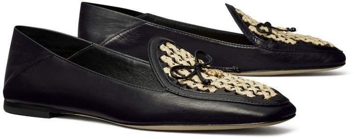 Tory Charm Woven Loafer