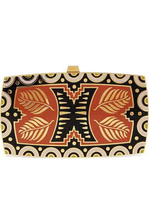 13BC | The Discovery gold-tone and enamel clutch | NET-A-PORTER.COM