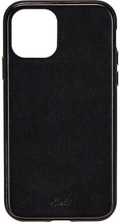 Black Leather Wallet 11 Pro MAX Case