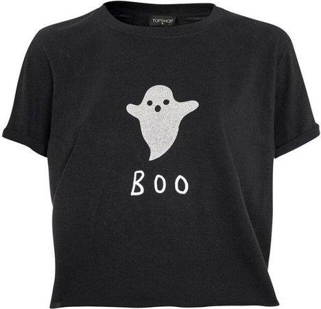 TOPSHOP Ghost Boo Tee
