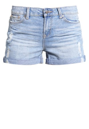 Selected Femme SFALEX - Jeans Short / cowboy shorts - light blue denim Damer Jeans,selected jakke treck,selected til salg kjole udsalg,anbefale, selected jakke treck billigste